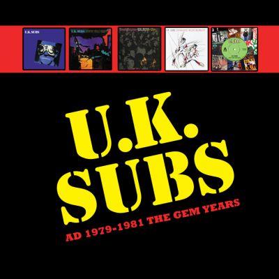 27 December First 4 U K Subs Albums Vinyl Re Issue