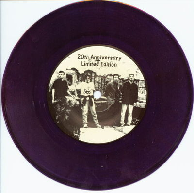 Purple vinyl A-side