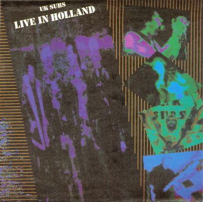 Live In Holland Front Cover