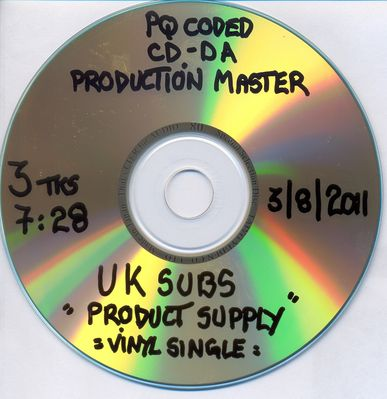 Production Master disc