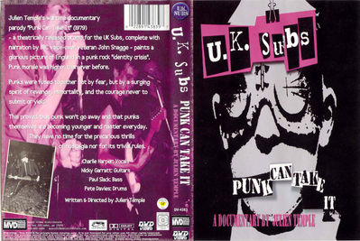 Punk Can Take It DVD cover - click to enlarge