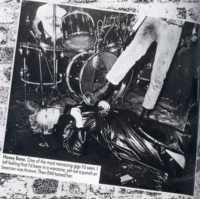 Ray Stevenson picture, ex Subs drummer Steve J Jones has head chopped off - click to enlarge