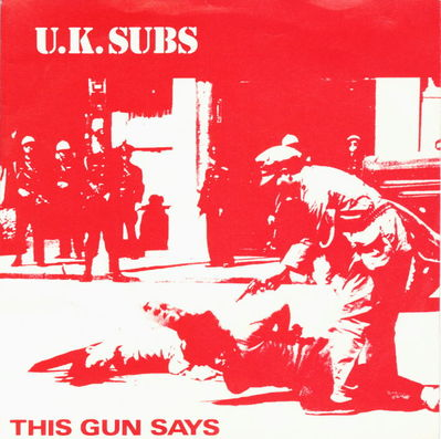 This Guns Says red & white front cover