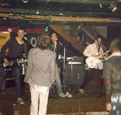 U.K. Subs at the Roxy, 1977. Click to enlarge