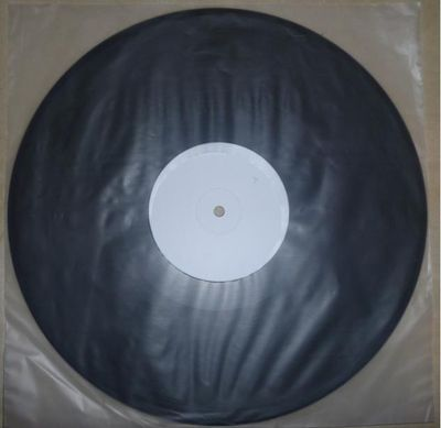 Work In Progress vinyl Test Pressing - click image to enlarge
