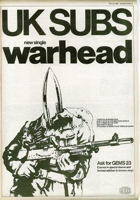 Warhead full page press ad