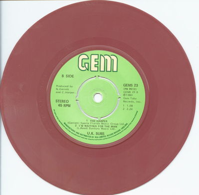 Brown Vinyl B-Side