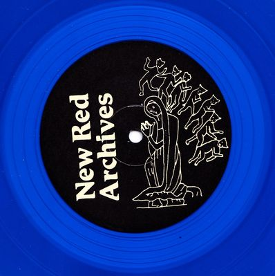 Blue Vinyl (Alternative Label) side 1