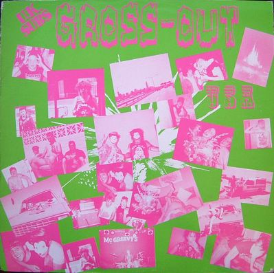 FALL LP031 pink on green front cover