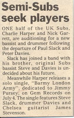 News article Melody Maker 28 June 1980 - click to enlarge