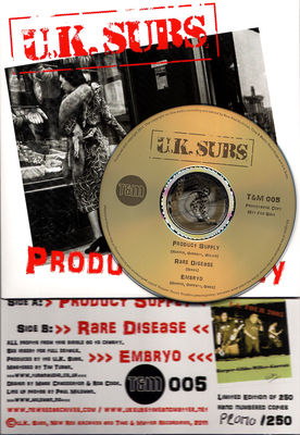 Promo copy with CD - click to enlarge