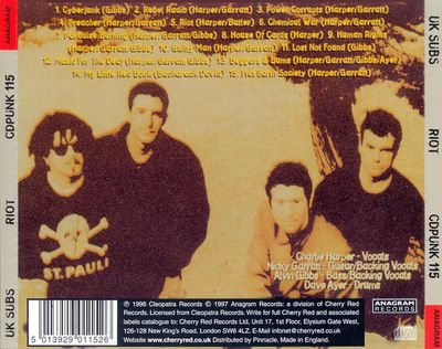 CDPUNK115 back cover