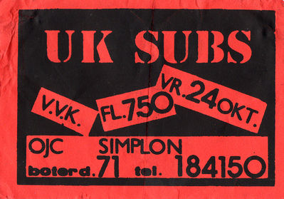 24.10.1986 ticket - click image to enlarge