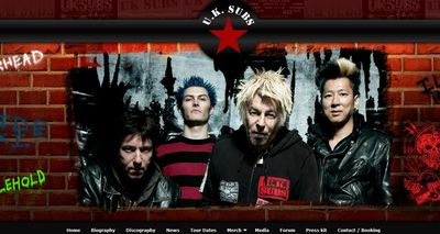 Screenprint of the top of the new www.uksubs.com homepage - click to enlarge