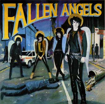 Fallen Angels 1st LP cover - see text above
