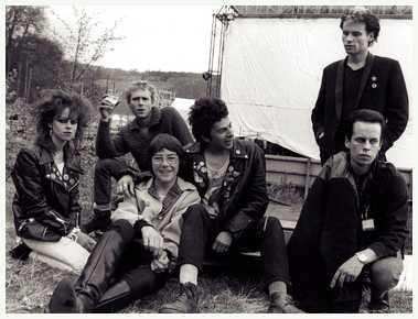 The U.K. Subs et al, at Glastonbury, June 1979