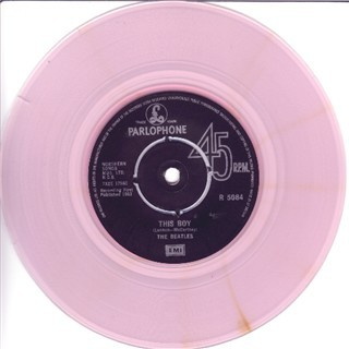 Pink vinyl test press/mispress