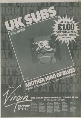 Album advert