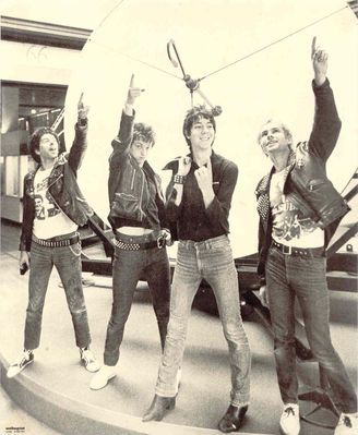 UK Subs point the way!