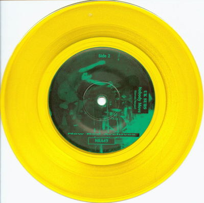 Yellow vinyl B-side