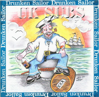 Drunken sailor front cover