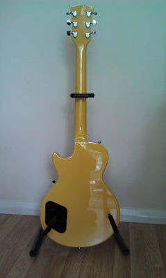 Back of Jet's Sparrow guitar - click image to enlarge