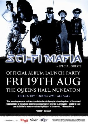 Album launch - click image to enlarge