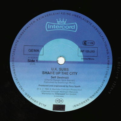 Shake up the city 12