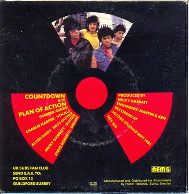 Swedish Countdown Front cover