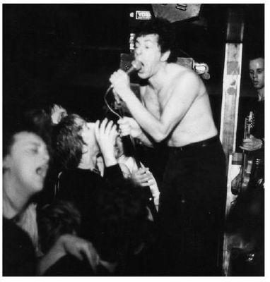 UK Subs at Sheffield Polytechnic 1981 (Photo copyright Kristan James Melik) - click image to enlarge