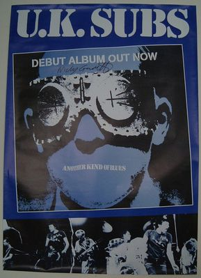 Another Kind of Blues repro promo poster