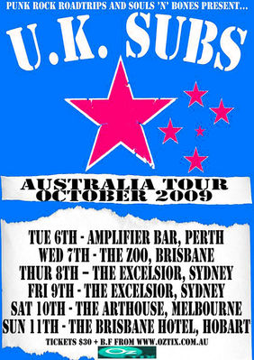 2009 Tour Poster - click to enlarge