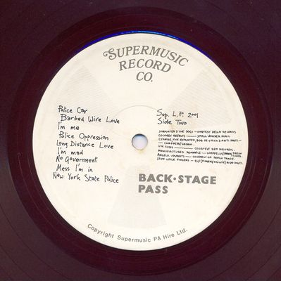SUP.LP.2001 side 2