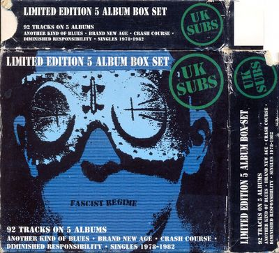 Fascist Regime Box Set case front