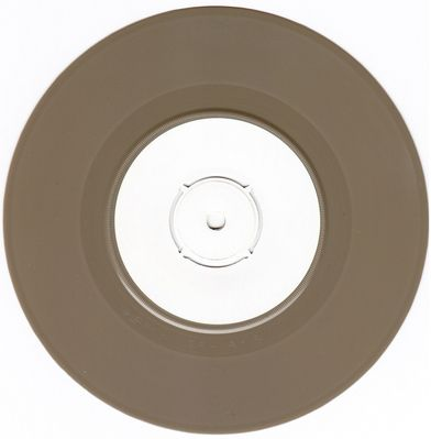 White label, brown vinyl A-side